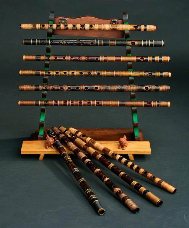 10種類の篠笛